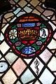 Servetus Medallion in Zettler window (UU Church of Lancaster PA).jpg