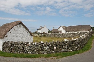 Cregneash - Image: Several buildings at Cregneash geograph.org.uk 784696