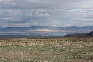 Sevier Lake - Image: Sevier Lake Utah September 2013