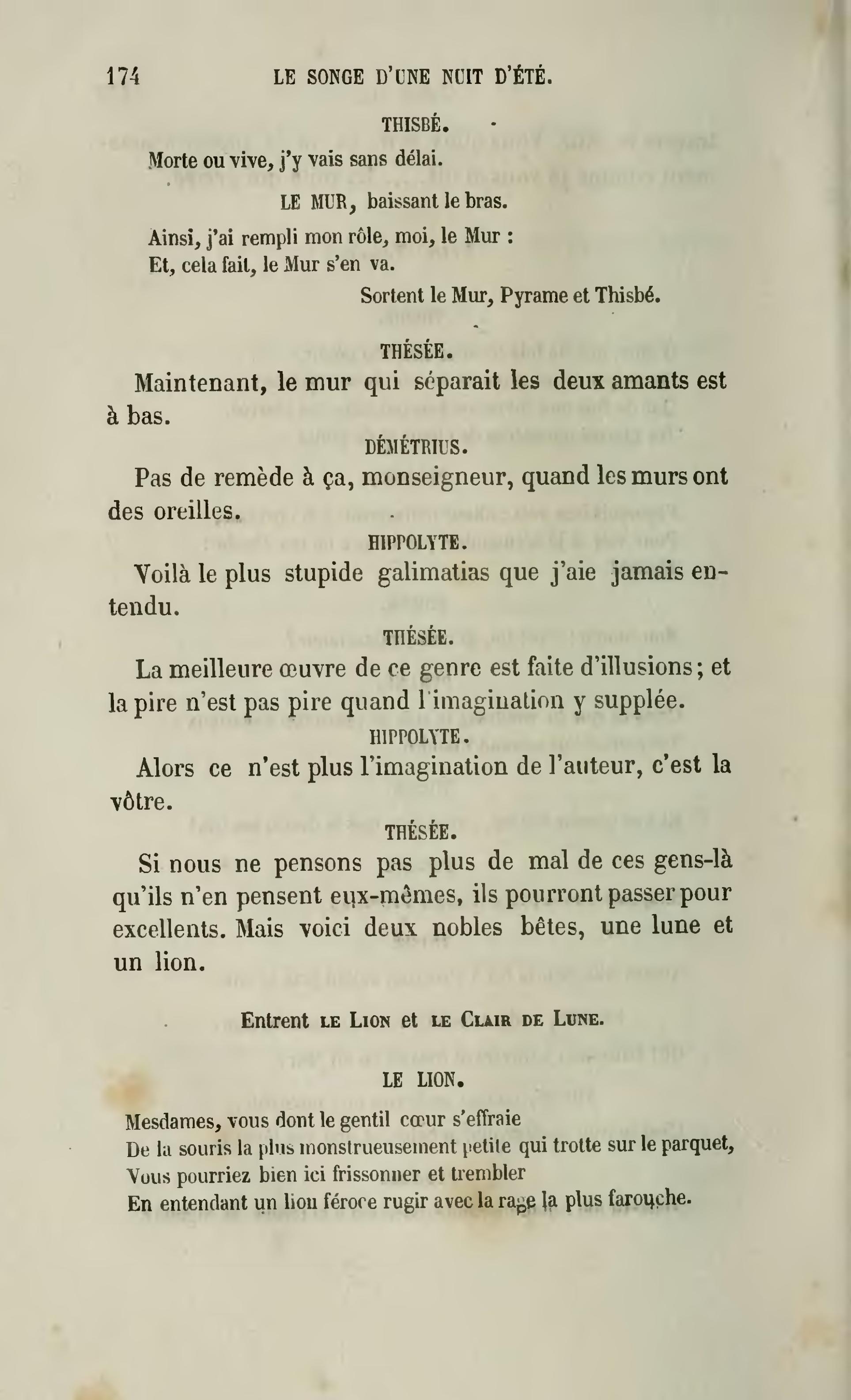 J Ai Une Souris Dans Mon Mur page:shakespeare - Œuvres complètes, traduction hugo