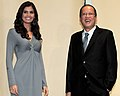 Shamcey Supsup and Noynoy Aquino on September 18, 2011.jpg