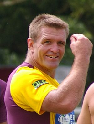 Shane Webcke - Webcke training with the Broncos in 2006