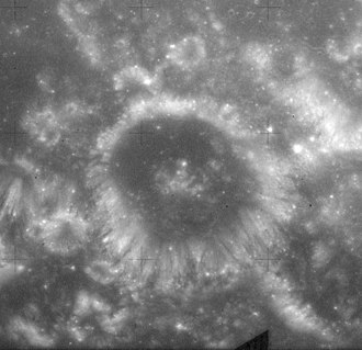 Shapley (crater) - Image: Shapley crater AS15 M 0949