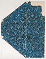 Sheet with overall pattern of leaves, vines, and dots Met DP886797.jpg