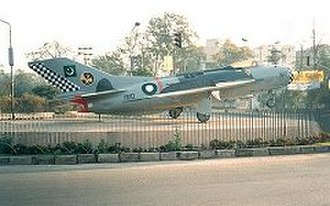 Pakistan Aeronautical Complex - A retired Pakistan Air Force F-6 on display