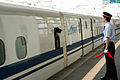 Shinkansen and Himeji Station M9 23.jpg