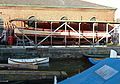 Ship repair at the Underfall Yard, Bristol (geograph 2228619).jpg