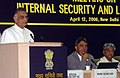 Shivraj Patil addressing at the Conference of Chief Secretaries' & Directors General of Police on Internal Security and Law & Order, in New Delhi. The Minister of State for Home, Shri Shriprakash Jaiswal and the Home Secretary.jpg