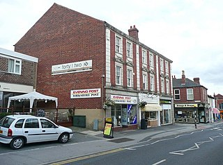 Horbury Town in West Yorkshire, England