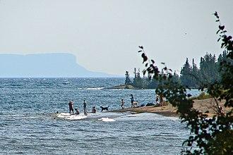 Shuniah - Thunder Bay of Lake Superior at Shuniah Township