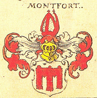 Rudolf III von Montfort roman-catholic bishop