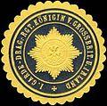 Siegelmarke 1. Garde-Dragoner-Regiment Königin von Grossbritannien und Irland W0285580.jpg