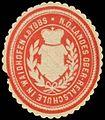 Siegelmarke N. Österr. Landes Ober-Realschule in Waidhofen an der Ybbs W0334288.jpg