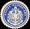 Siegelmarke Reichs - Marine - Amt W0211763.jpg