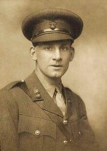 Siegfried Sassoon (mei 1915) door George Charles Beresford