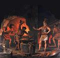Siegfried dans la forge de Regin.jpg