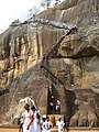 Sigiriya 'lion paws' (7567470898).jpg