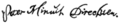 Signature of Peter Minuit.png