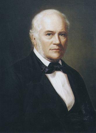 Jón Sigurðsson - Portrait of Jón by Þórarinn B. Þorláksson