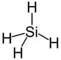 The structure of Silane