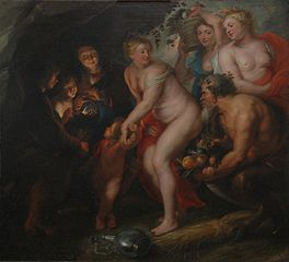 Sine Cerere et Baccho friget Venus (Without Ceres and Bacchus Venus Would Freeze)