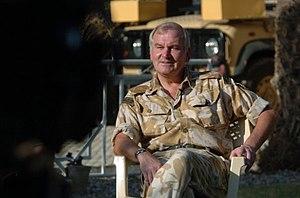 Robert Fry - Lieutenant General Sir Robert Fry (self-portrait taken in Baghdad 2007)