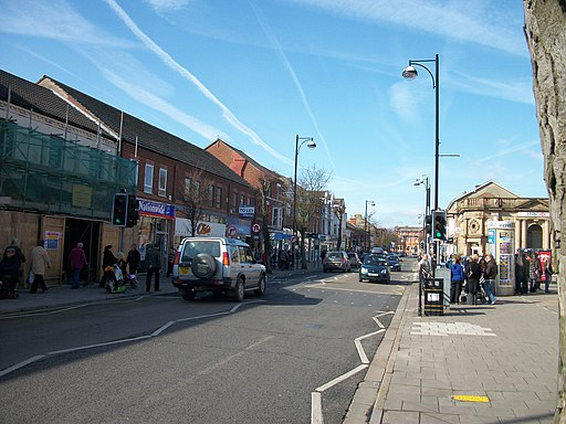Skegness High Street - geograph.org.uk - 1762450