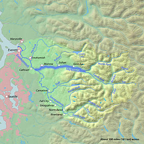 Image illustrative de l'article Skykomish (rivière)