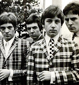 Small Faces - (left to right) Marriott, Lane, Jones, Winston