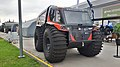 """Snow-swamper vehicle """"Khan-extreme"""" cargo edition during the """"Armiya 2021"""" exhibition (right-front view).jpg"""