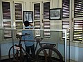 Soekarno's bicycle in Bengkulu.jpg