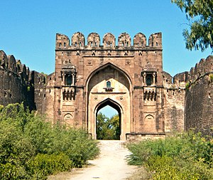 Sur Empire - The Rohtas Fort in northern Pakistan was built under Sher Shah Suri, and is now a UNESCO World Heritage Site.