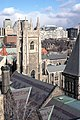 Soldiers Tower viewed from University College Tower, University of Toronto, 1987 - panoramio.jpg