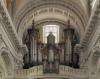 Solothurn Cathedral - The main organ