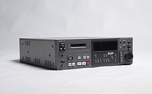 Digital audio - Sony digital audio recorder PCM-7030