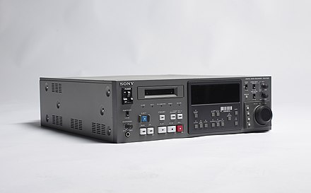 Sony digital audio recorder PCM-7030 Sony PCM-7030 of DR 20111102a.jpg