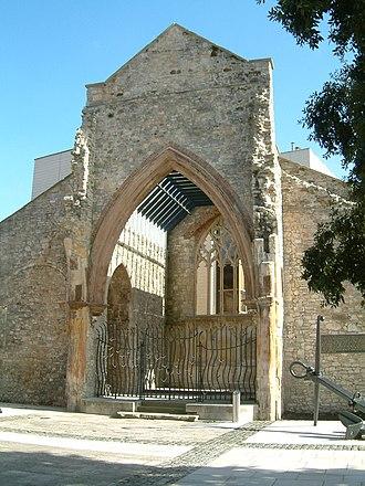 Holyrood Church - Image: Southampton 06