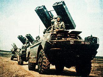 9K31 Strela-1 - 9K31 transporter erector launcher