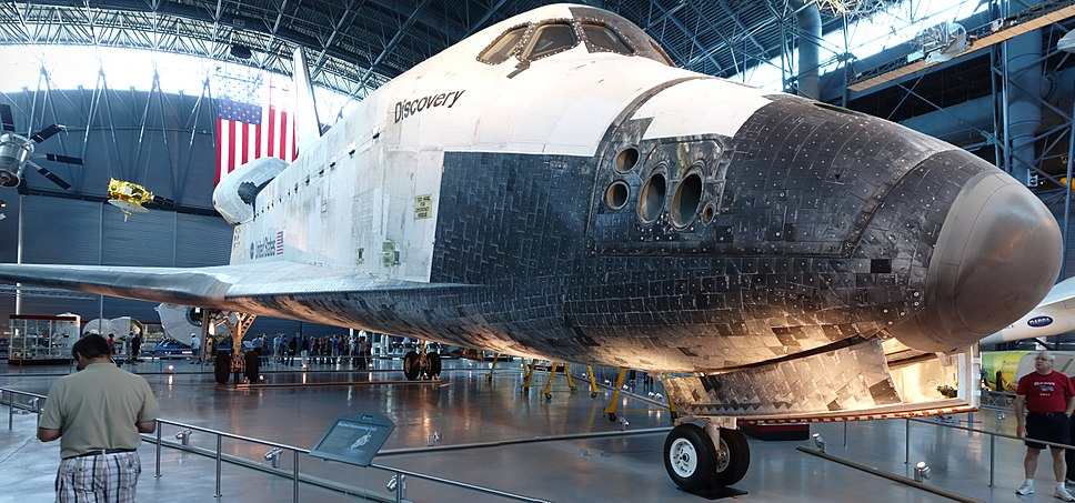 Space Shuttle Discovery on Display