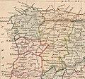 Spain and Portugal 1830 John Arrowsmith (detalle noroeste).jpg