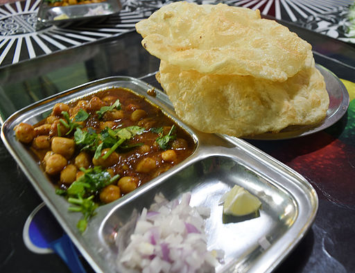 Spicy Chole Bhature 2
