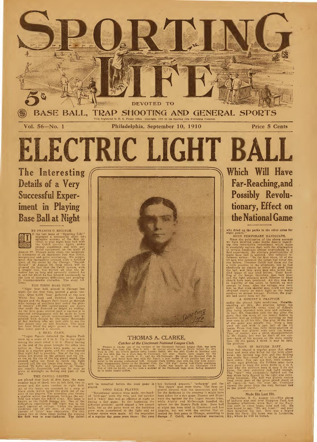 Sporting Life (American newspaper) - Wikipedia