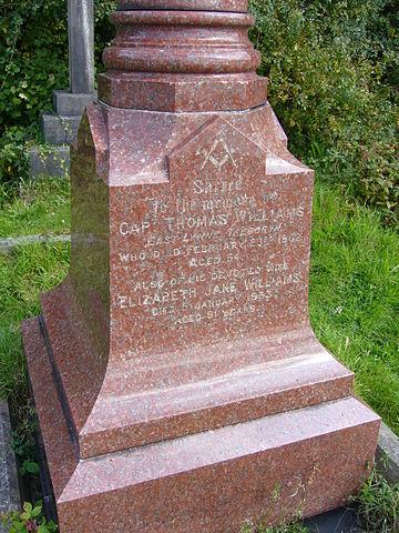 Žulový pomník