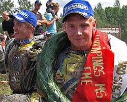 Joakim Ljunggren, sexfaldig vinnare i Stångebroslaget. Bild från 2006