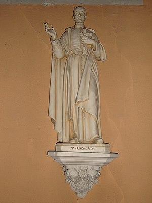 John Francis Regis - Statue of St.François Regis, St. Martin-de-Valamas, Ardèche