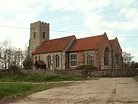 St. Katharine's church, Gosfield, Essex - geograph.org.uk - 153243.jpg