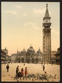 St. Mark's Place, with campanile, Venice, Italy-LCCN2001701007.tif