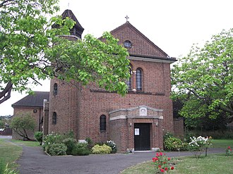 Norbury - Image: St. Oswald's (July 2015)