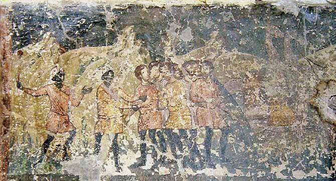 St. Sofija, Ohrid - Finding of the Silver Cup