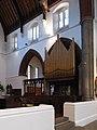 St Alban, Albert Road, Great Ilford, Essex - Organ - geograph.org.uk - 1744053.jpg